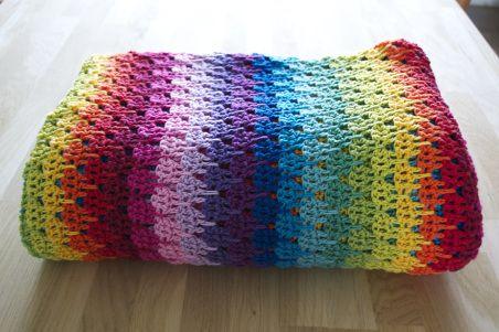 Crochet Stitches Larksfoot : Larksfoot blanket #crochet crochet / knit / felt ideas Pinterest