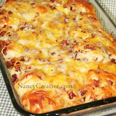 BACON-CHEESE PULL APARTS | Recipes: Breakfast yummies and Breads | Pi ...