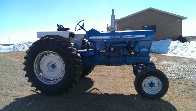 Ford 5000 Diesel Tractor Parts : Ford row crop