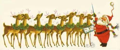 Name all the reindeer. | Casa Meetings | Pinterest
