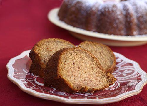 Roasted Applesauce Cake | Recipe