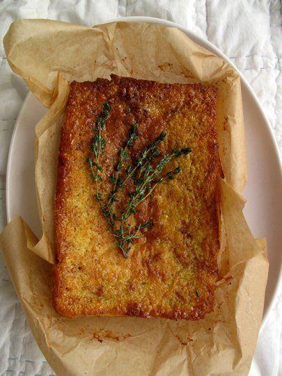 Recipe: Lemon Yogurt Cake with Ginger-Thyme Syrup