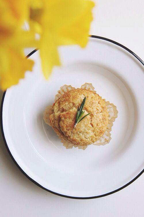 Lemon and rosemary muffins | Brunch | Pinterest