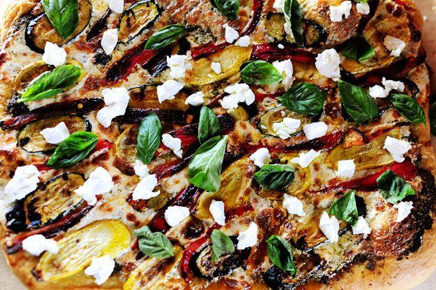 Grilled Veggie Pizza | Recipe