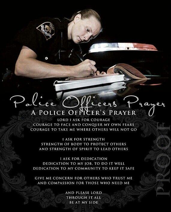Police Officer Prayer ...
