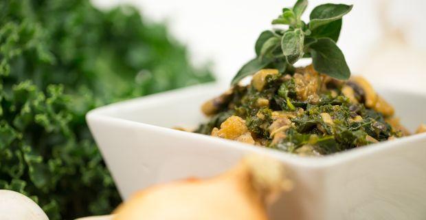 Kale & Mushroom Stroganoff recipe | Food - Healthier Cooking | Pinter ...
