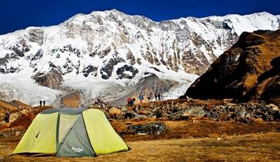 K2 Base Camp At Night Nepal: 14-Night Himalayas Base Camp Trek. Gotta look at this girls!