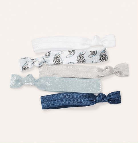 Blue Hair Tie Set | Loft