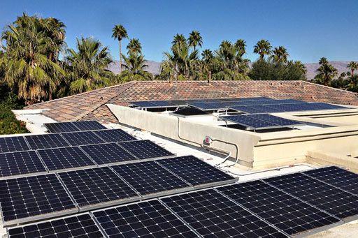 Solar Panels on Flat Roof | home | Pinterest