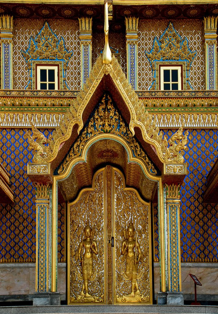 Uthai Thani Thailand  city photos gallery : Temple Door in Uthai Thani, Thailand | Doors and Windows | Pinterest