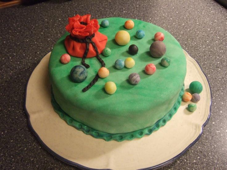 Marble Cake Fondant