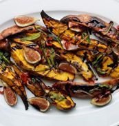 Ottolenghi and Sami Tamimi's roasted sweet potatoes with fresh figs ...