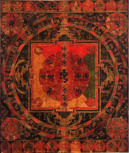 Nairatma Mandala  bdag-med-ma'i dkyil-'khor   Central Tibet, 13th century