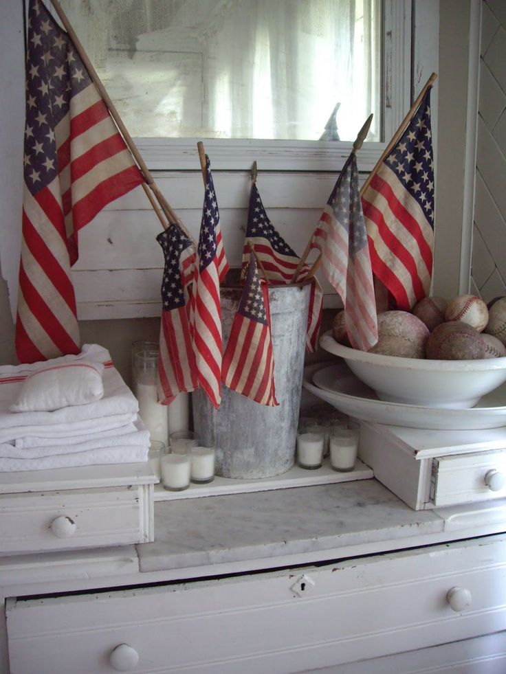 Decorate and Celebrate Veterans' Day, Memorial Day and July 4th
