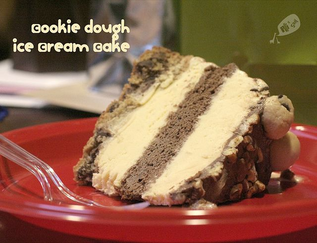 Cookie Dough Ice Cream Cake for Adam | Cakes/Pies | Pinterest
