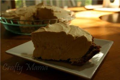 Frozen Pumpkin Mousse Pie (with reduced-fat gingersnaps, no fat cream ...