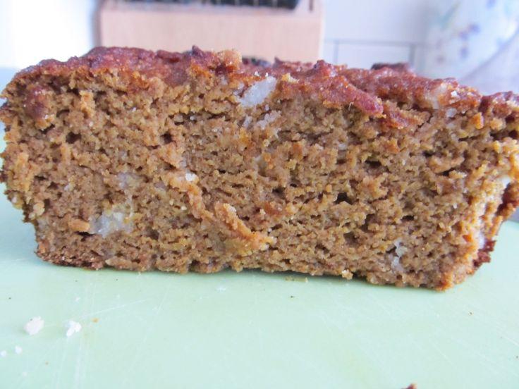 Paleo Pumpkin Chai Tea Bread 1/2 cup coconut flour 1 tbsp cinnamon 1 ...