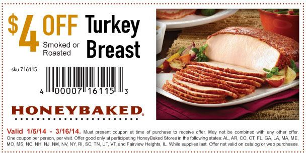 Honeybaked ham coupon code december 2018