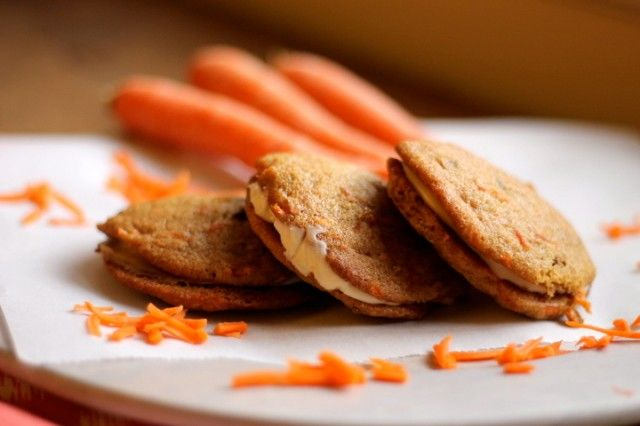 Inside-Out Carrot Cake Cookies   Baked Goods   Pinterest