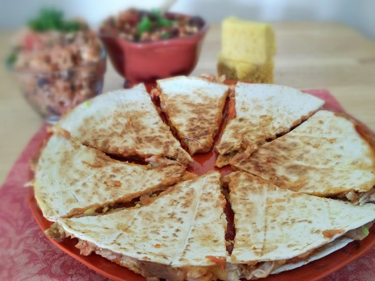 Image Grilled Chicken Quesadillas Download
