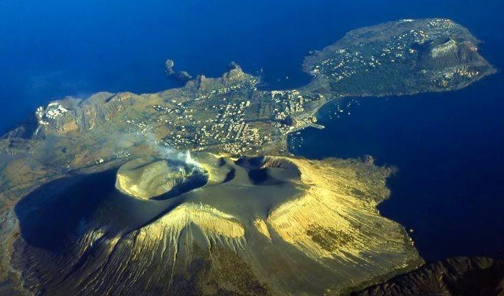 Vulcano Island Italy