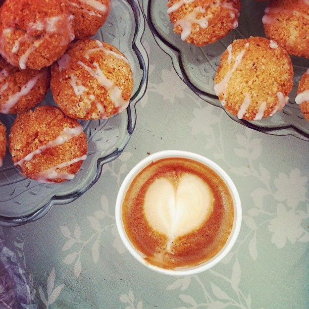 Espresso and almond financiers | I love food ok? | Pinterest