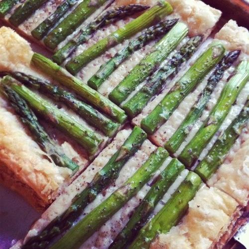 asparagus gruyere tart. | Food | Pinterest