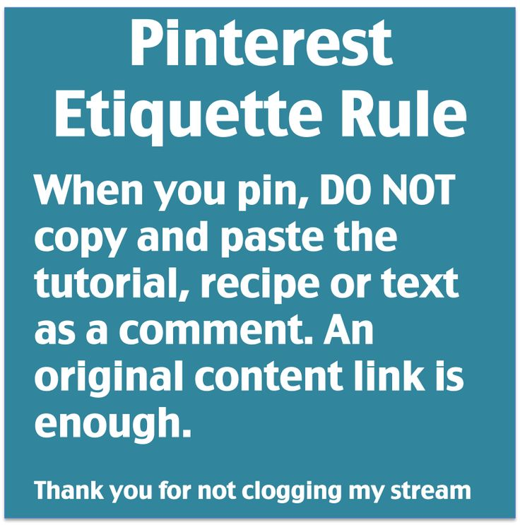 Please repin this!!! Yes, please don't steal content and paste it in as a description. We can all click for the full post. // Pinterest etiquette - don't copy and paste a blog entry into the comments of a pin