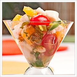 Shrimp and Scallop Ceviche | Good to Eat... | Pinterest