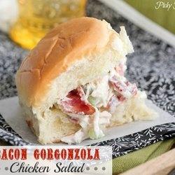 Bacon Gorgonzola Chicken Salad | Food- Savorys | Pinterest