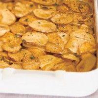 Potato and Celery Root Gratin with Leeks - Bon Appétit