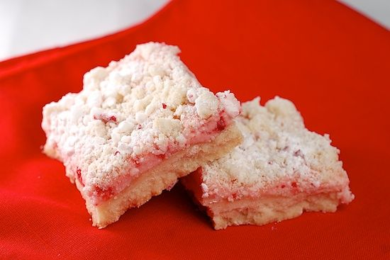 Peppermint Cream Cheese Cookie Bars | Stylish Cuisine