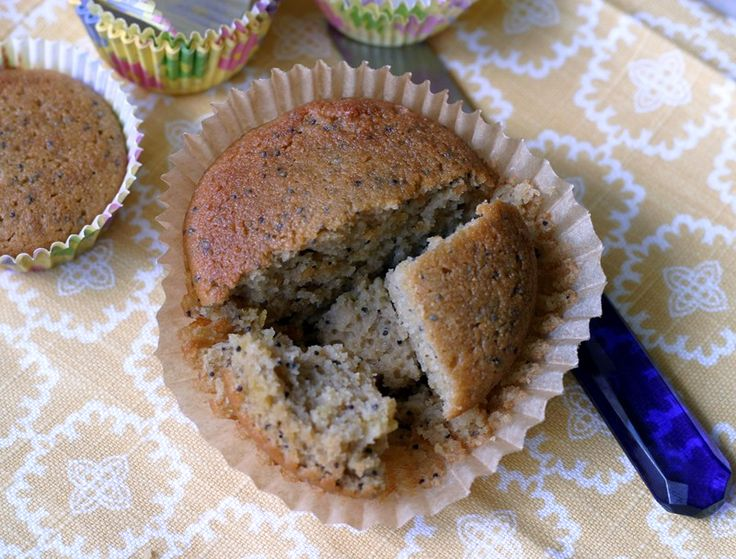 Lemon Poppy Seed Muffin, gluten and dairy free, low oxalate coconut ...