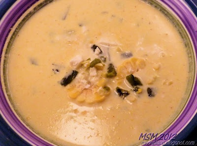Fresh Corn Chowder with Roasted Peppers | soups,delicious & comfortin ...