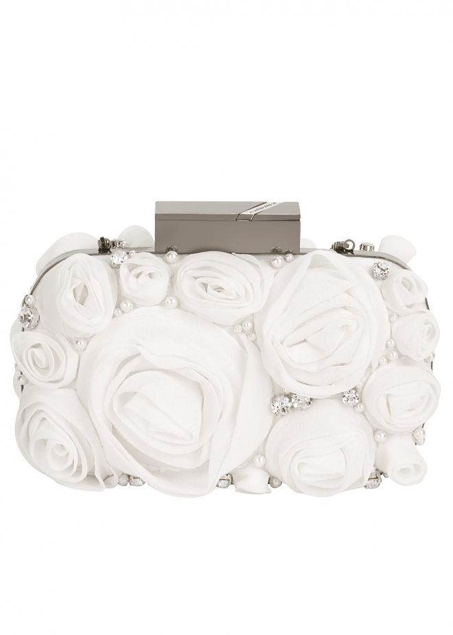 Matthew Williamson ● Chiffon Rose Clutch