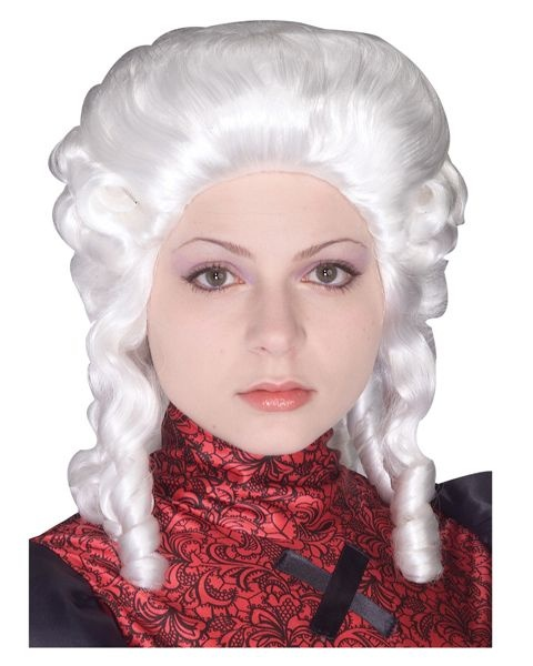 White Colonial Womens Wig | Hairstyles | Pinterest