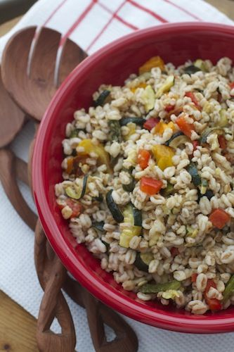 Roasted Vegetable Farro Salad | Tasty Kitchen: A Happy Recipe ...