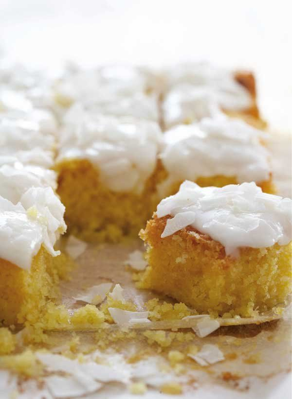 Wheat-free: Lemon polenta cake | Fooooooooood | Pinterest