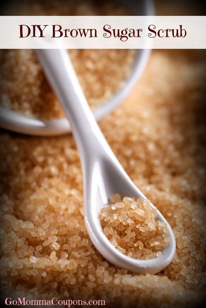How to make Brown Sugar Scrub