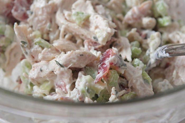 Bacon Gorgonzola Chicken Salad (Use Lettuce Wraps)