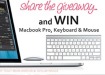 Apple's Macbook Pro, Wireless Keyboard, and Magic Mouse Giveaway