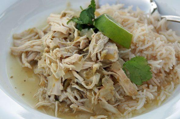... chicken in a crock pot espinoso pollo chili or prickly chicken chili