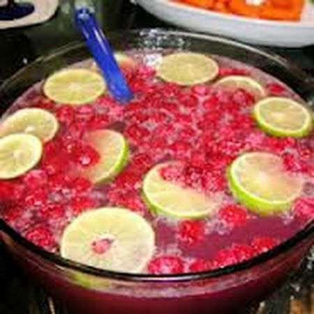 Cranberry Punch | Christmas Cheer | Pinterest