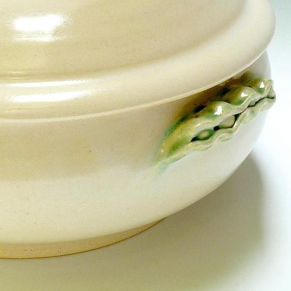 White Ceramic Casserole Dish