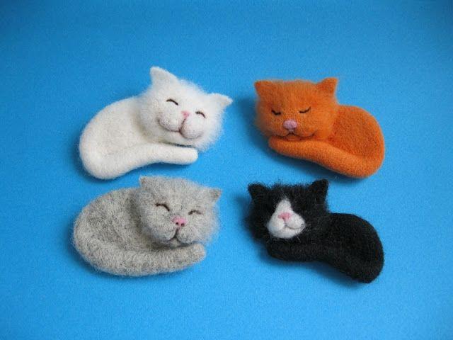 Маленькие кошки своими руками 373
