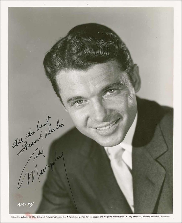 Audie Murphy 1925 1971 They Don T Make Em Like That