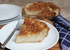 Sugar Cream Pie (Hoosier Pie) | Favorite Recipes | Pinterest