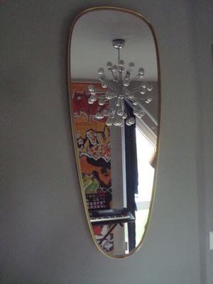 Grand miroir année 50_déco rétro_vintage  Furniture  Pinterest