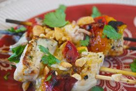 """Point-less"""" Meals: Chicken Apricot Skewers"""