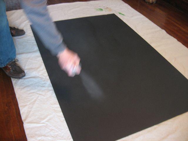 Laminate poster board